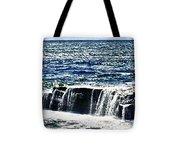 hd 347 The Rock hdr Tote Bag