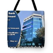 Hdfc Bank Recruitment Tote Bag