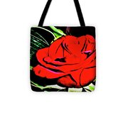 hdr 263 - Red Red Rose  Tote Bag
