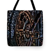 Hdr Liberty Bike Copper Ny Tote Bag