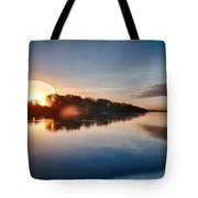 Hdr River Fun Tote Bag