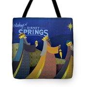 Three Wise Men Disney Springs Tote Bag