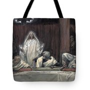 He Appeared To The Eleven Tote Bag by Tissot