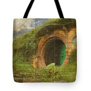 he Bag End Hobbit House Lord of the Rings Shire Illustration Dictionary Art Tote Bag