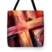 He Died For Me Tote Bag