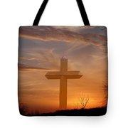 A Cross The Universe Tote Bag