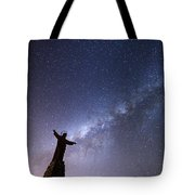 He Held The Stars In The Palm Of His Hand Tote Bag