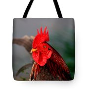 He Is The First In The Morning Tote Bag