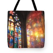 He Shall Bring You Into The Light Tote Bag