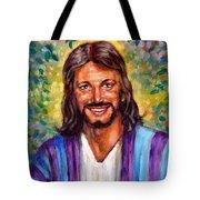He Smiles Tote Bag