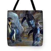 He Was Here Just A Minute Ago Tote Bag