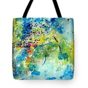He Watches Over Me II Tote Bag