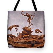He Who Saved The Deer Complete Tote Bag