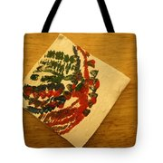 Head - Tile Tote Bag