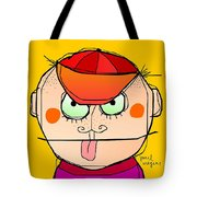 Head 86 Tote Bag