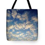 Head In The Clouds- Art By Linda Woods Tote Bag