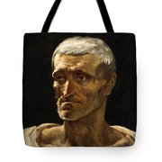 Head Of A Shipwrecked Man  Tote Bag