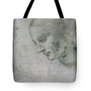 Head Of A Young Woman Or Head Of The Virgin Tote Bag