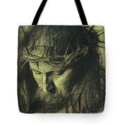 Head Of Christ Tote Bag by Franz Von Stuck