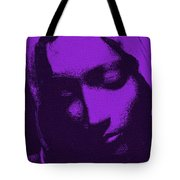 Head Of Mary Tote Bag