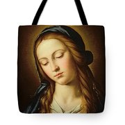Head Of The Madonna Tote Bag