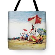 Head  Of The Meadow Beach, Afternoon Tote Bag