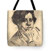 Head Of Woman (frauenkopf) Tote Bag