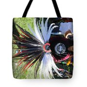 Head Piece Dancer Day Of The Dead  Tote Bag