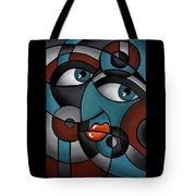 Head Spin Tote Bag