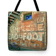 Head To Foot Tote Bag