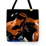 Head To Head Tote Bag
