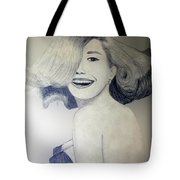 Head Turn Tote Bag