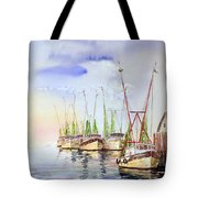 Headed To Work Tote Bag