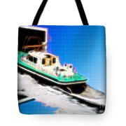 Heading Back To Sea Tote Bag by Sue Melvin