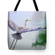Heading For The Treetops Tote Bag