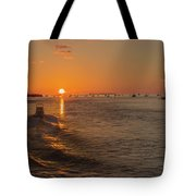 Heading Into The Sunset Tote Bag