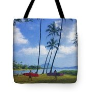 Heading Out To Surf Tote Bag