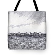Heading Out To The West Bar Tote Bag