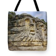 Heads Of Devils Tote Bag