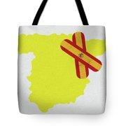 Heal Spain Tote Bag