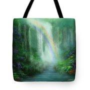 Healing Grotto Tote Bag by Carol Cavalaris