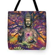 Healing Nature Tote Bag by Christopher Beikmann