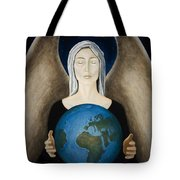 Healing The Planet Tote Bag