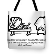 Healing Thoughts Tote Bag by Leanne Wilkes