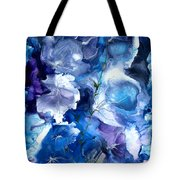 Healing With Blues Tote Bag