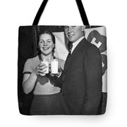 Health Champions Drink Milk Tote Bag