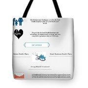 Health Insurance Exchange Online Tote Bag