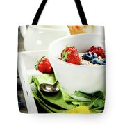 Healthy Breakfast Tote Bag