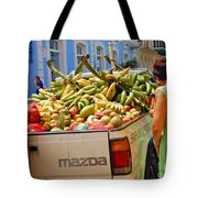 Healthy Fast Food Tote Bag