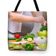Healthy Pregnancy Concept Tote Bag